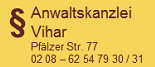 Anwaltskanzlei Günter Vihar